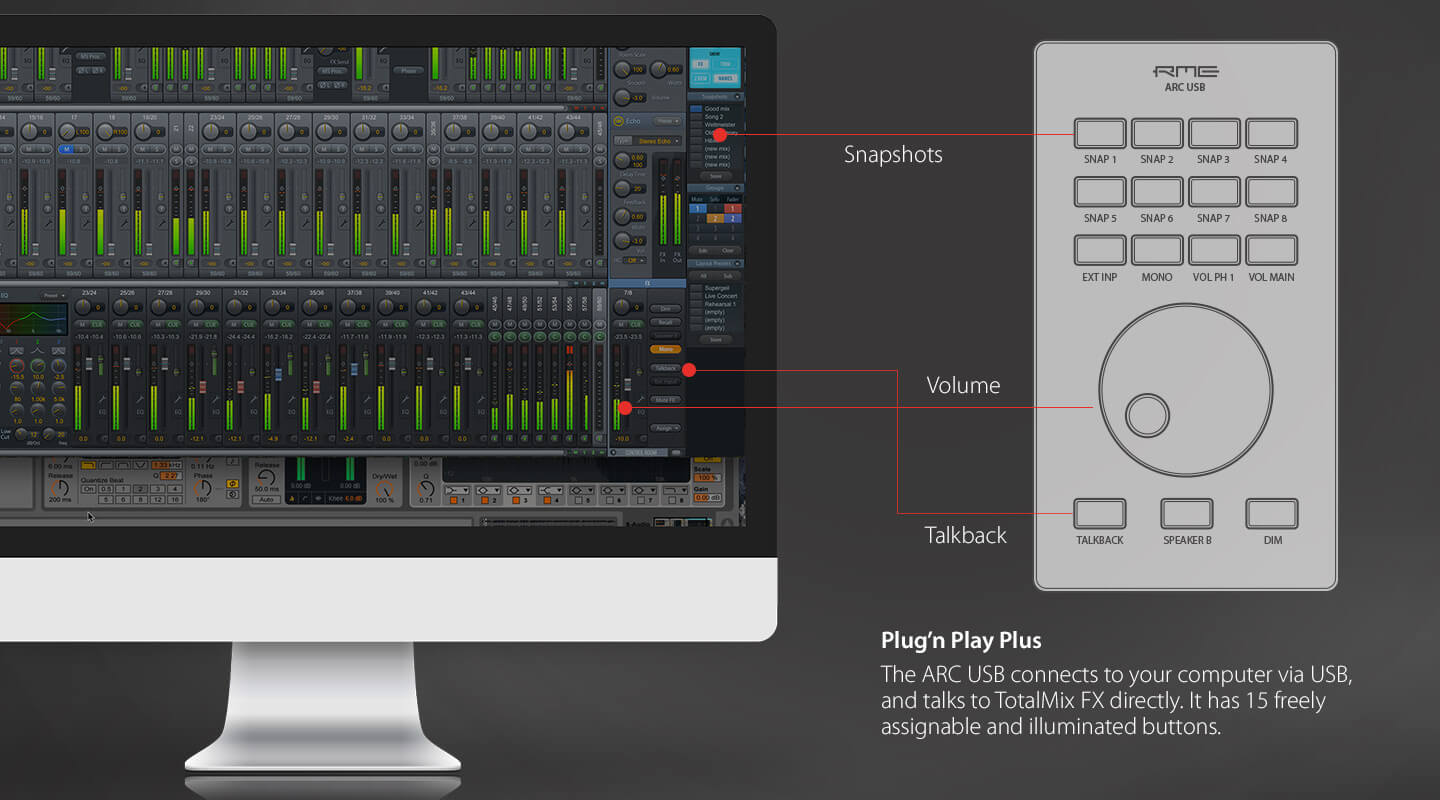 TotalMix FX Loopback Feature