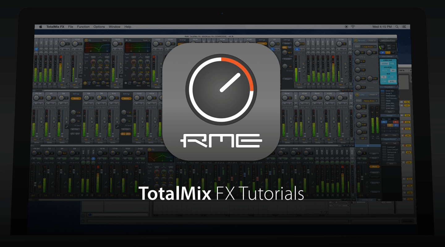 TotalMix FX Beginner's Guide Tutorial Serie